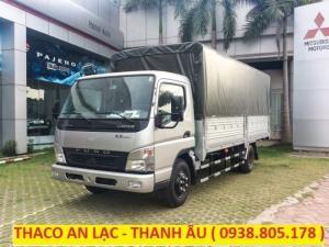 Xe tải canter 6.5 tải trọng 3,4 tấn xuất xứ nhật bản, hỗ trợ trả góp 80% giá trị xe.