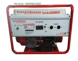Máy phát điện BmB 6500Ex chạy xăng 5kw