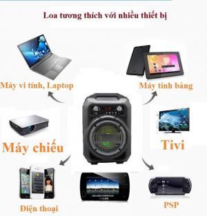 Kéo Bluetooth BS12 Cắm Micro Thẻ Nhớ USB Điện thoại Tivi Loa Kẹo