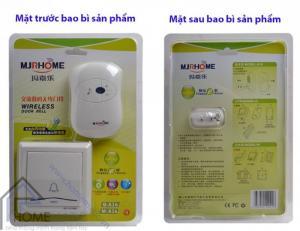 Chuông cửa không dây MJRHOME M-A16 trang bị nút nhấn chống thấm nước
