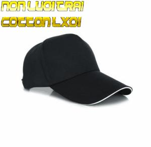 Nhập khẩu chống nắng cao cấp Nón Lưỡi trai Cotton LX01