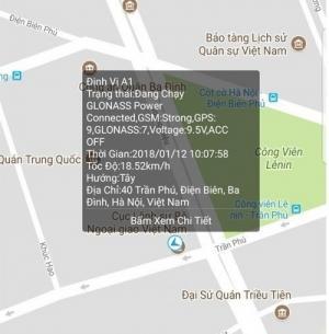 PKCB Định vị ô tô A9 Plus không dây Dung Lượng Pin 20.000 Mah GPS