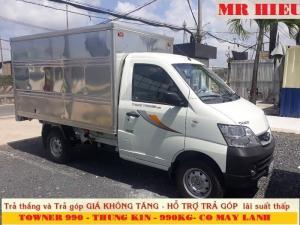 Bán Xe Towner 990 Tải 990kg, Towner990 Euro Iv Có Máy Lạnh, Giao Xe Có Liền