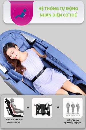 Ghế massage Buheung MK-7700 Xanh - Gymaster