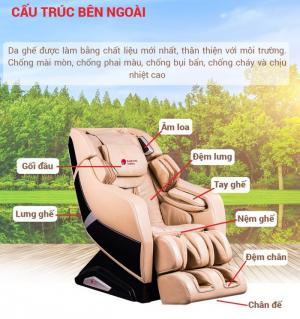 Ghế massage Buheung MK-7000 (Kem) - Gymaster