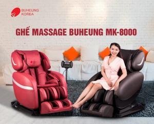 Ghế massage Buheung MK-8000 (Đỏ) - Gymaster