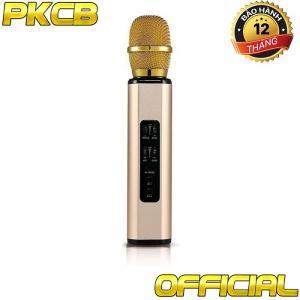 Micro karaoke Bluetooth nhập Khẩu cao cấp PKCB-BM06 có khe cắm thẻ nhớ