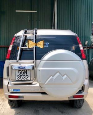 Bán Ford Everest 4x2 AT sx 2009 ghi vàng