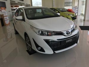 Khuyến Mãi Toyota Yaris 1.5G 2018 Màu Trắng Nhập Khẩu Thái Lan Mới, Mua Trả Góp chỉ cần 200Tr.