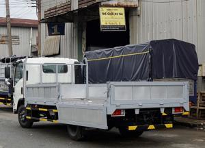 Xe tải Isuzu 3.5 tấn, thùng lửng, trả trước 50 triệu, giao xe ngay