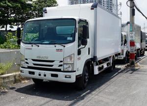 Xe tải Isuzu 3.5 tấn, thùng bảo ôn, trả trước 50 triệu, giao xe ngay