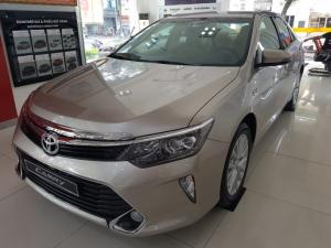 Khuyến Mãi Toyota Camry 2.0E 2018 Màu Nâu Vàng  Mua Trả Góp chỉ cần 250Tr. Xe Giao Ngay