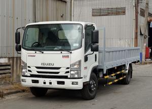 Xe tải Isuzu 5.5 tấn, thùng lửng, trả trước 50 triệu, giao xe ngay