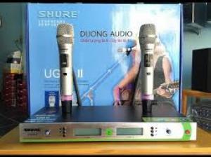 Micro không dây Shure UGX8 II không bao giờ hú rít, có bán trả góp