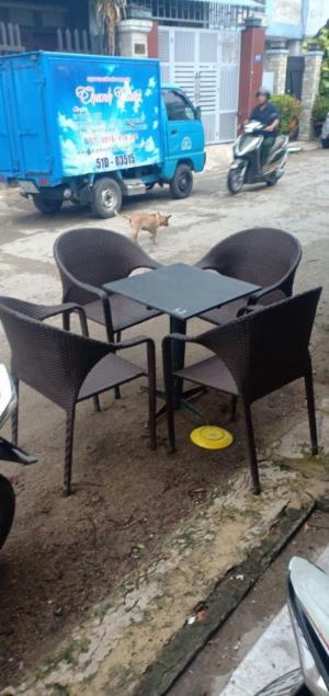 Bộ bàn ghế cafe giá rẻ mai nguyễn