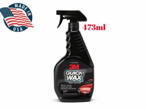 Chai Đánh Bóng Bề Mặt Sơn Xe 3M Quick Wax 39034 - 473ml