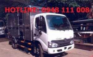 Xe tải 1 tấn 9 Hino thùng kín