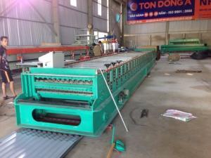 Chuyên cung cấp máy cán tôn 1 tầng 6-11 sóng