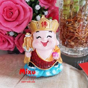 Tượng Phật Chibi 9cm Bằng Sứ