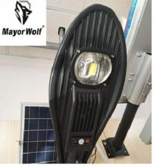 Đèn năng lượng mặt trời liền thể 50W - Mayor Wolf