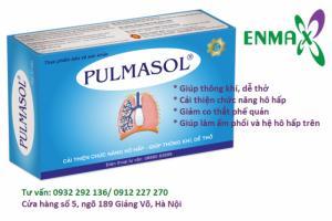 Triệu chứng, biến chứng của Hen phế quản và liệu pháp hỗ trợ điều trị Pulmasol