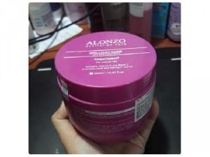 Kem hấp chăm sóc tóc nhuộm ở nhà alonzo