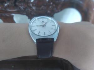 Đồng hồ Tissot cổ lên dây cót size 36 vàng 14k