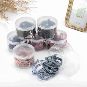 Set gồm 12 chi tiết dây buộc tóc mềm Hàn Quốc