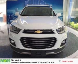 Chevrolet Captiva Revv 2018, vay NH 95%,giảm giá đến 50TR