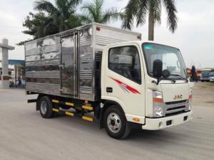 Báo giá Xe tải Jac3.45t, Đầu vuông, Có Máy Lạnh Ca Bin Bảo hành 05 Năm xe tải Jac thùng kín, xe tải jac thùng mui bạt