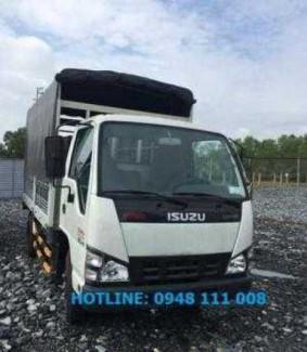 Xe tải ISUZU 1 tấn 9 thùng mui bạt Euro4