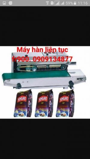 Máy ép miệng bao liên tục không đóng date giá rẻ FR900
