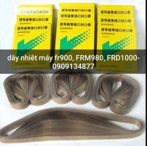 Máy ép miệng túi bánh tráng liên tục, máy hàn miệng túi bánh trung thu Fr900