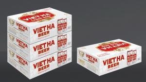 Bia lon Việt Hà 330ml (Larger)