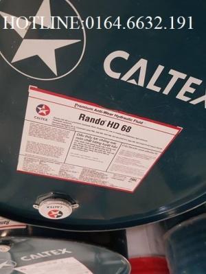 Dầu thủy lực Caltex Rando HD 68 phuy 208L