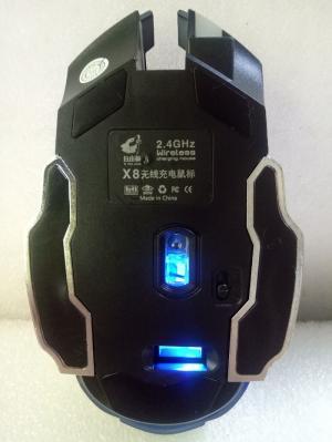 Chuột không dây cao cấp Free Wolf X8 dùng pin sạc | Mouse ko dây X8