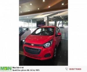Chevrolet Spark Duo giá ưu đãi- hỗ trợ 100%- 35tr lấy xe ngay