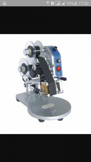 Máy in hạn sử dụng trên bao bì nilon/ máy in date dập tay/ máy đóng date trên nhãn decan giấy Dy 8