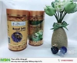 Sữa ong chúa Royal Jelly 1600mg nhập từ Úc