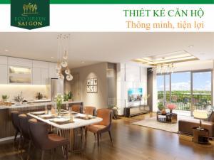 Công bố đợt đầu tiên căn hộ thông minh- hiện đại  ECO GREEN Sài Gòn, nhanh tay sở hữu với nhiều ưu đãi