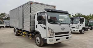 Giá xe tải Faw 7.3 tấn thùng 6m3, vay trả góp lãi suất thấp, giao ngay