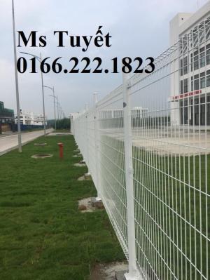 Lưới Hàng Rào D5 ô 50/150 mạ kẽm sơn tĩnh điện
