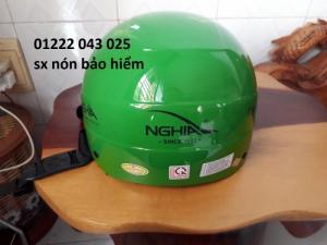 Mũ bảo hiểm in logo giá rẽ - mũ bảo hiểm kiềm nghĩa