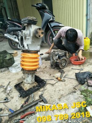 Sửa chữa đầm cóc tại Hà Nội I Sửa đầm cóc chạy xăng