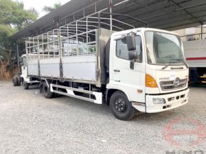 Xe tải Hino 6 tấn thùng mui bạt, xe tải thùng mui bạt 6 tấn, xe tải Hino