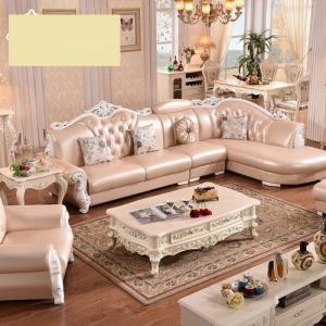 Sofa góc L tân cổ điển - ghế sofa gỗ đẹp châu âu cực đẳng cấp