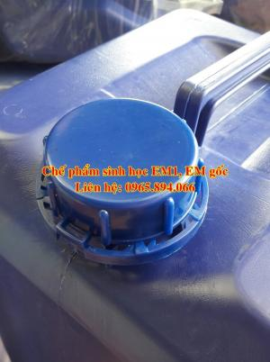 Cách ủ EM5 bằng chế phẩm EM1 dùng cho nuôi tôm - Chế phẩm sinh học Đại học Nông nghiệp