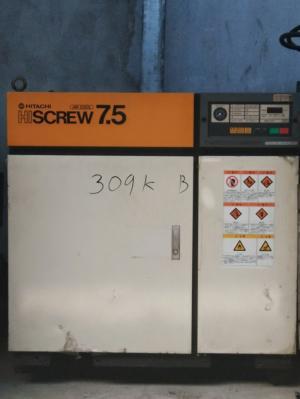 Máy nén khí hitachi aircool 7.5kw 10hp Chất lượng - Uy tín