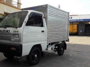 Suzuki xe tải nhẹ thùng kín hỗ trợ thuế