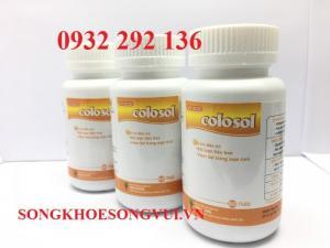 COLOSOL  giúp giảm triệu chứng khó chịu của viêm đại tràng cấp và mạn tính